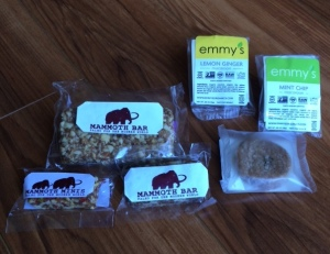 Must...have...more Mammoth Bars and Emmy's Macaroons!!